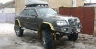 В Таласе появился автомонстр Чупакабра