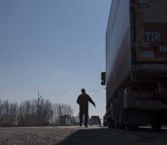 Кыргызстанга Кытайдан келе жаткан жүк кирбей калды