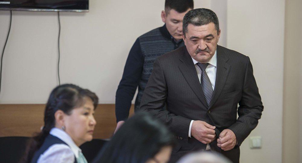 Бишкектин мэри Албек Ибраимовдун архивдик сүрөтү