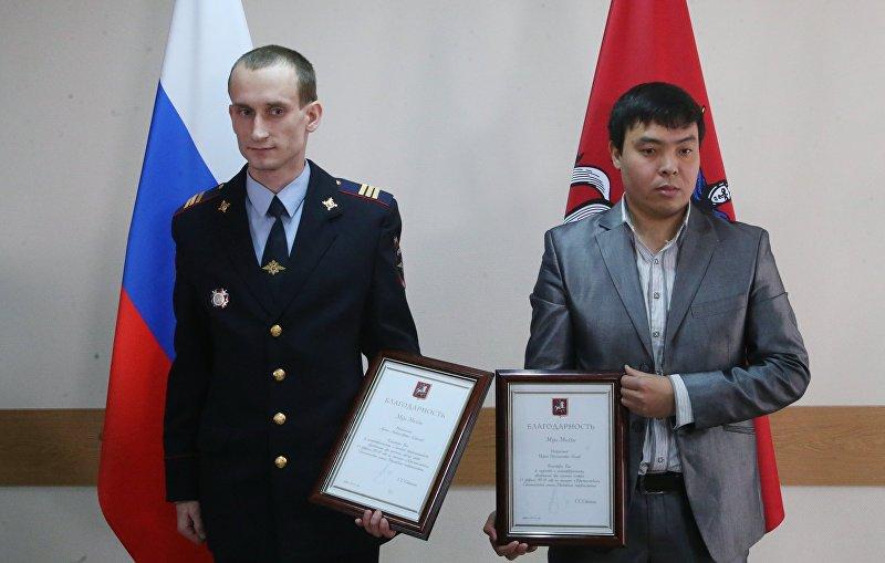 Мэр Москвы С. Собянин посетил ОВД Южное Медведково