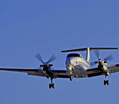 Beechcraft SuperKingAir-350 учагынын архивдик сүрөтү