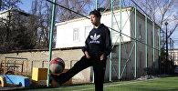 Инвалида детства из КР пригласили на Чемпионат Азии по футболу