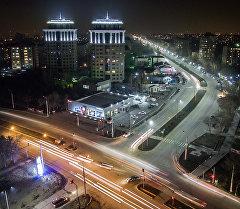 Бишкектеги Жукеев-Пудовкин көчөсү. Архив