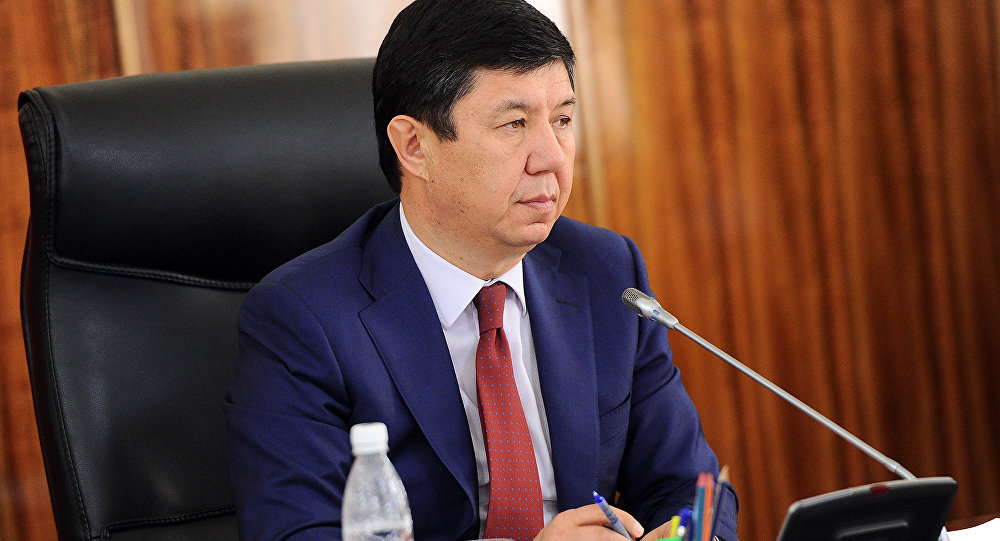 Экс-премьер-министр Кыргызстана Темир Сариев. Архивное фото