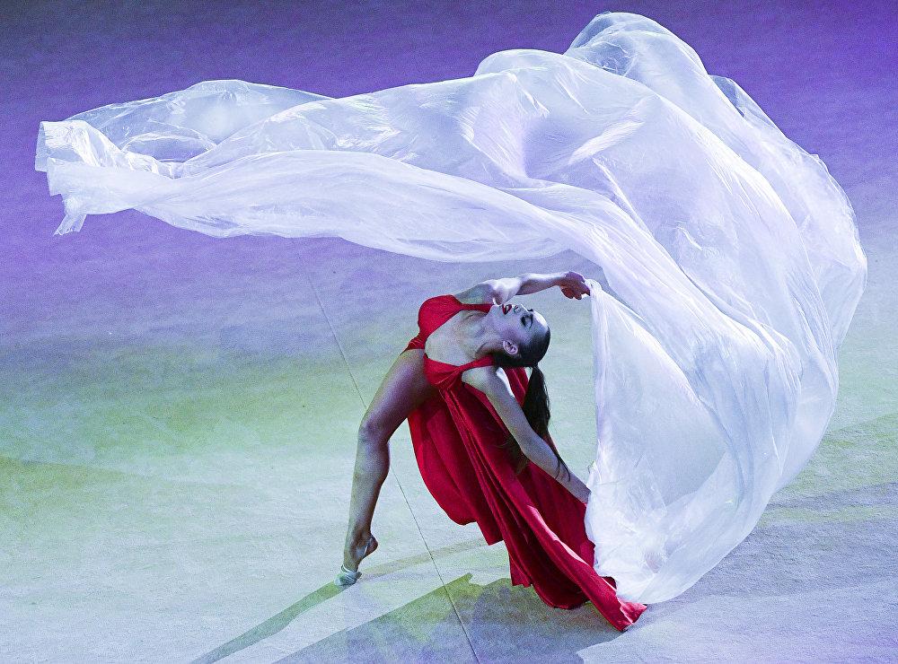 Гала-концерт турнира Гран-при Москвы по художественной гимнастике