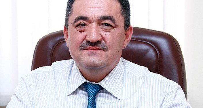Новоизбранный мэр Бишкека Албек Ибраимов. Архивное фото