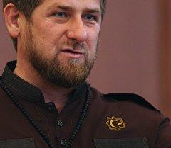 Чеченстандын жетекчиси Рамзан Кадыровдун архивдик сүрөтү