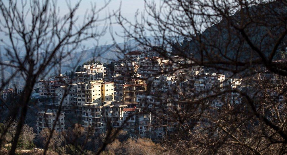 Вид на сирийский город Кесаб, находящийся неподалеку от сирийско-турецкой границы. Архивное фото
