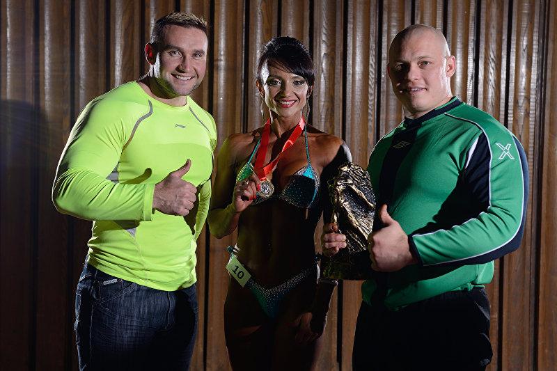 Чемпионка мира по пауэрлифтингу Любовь Малеева