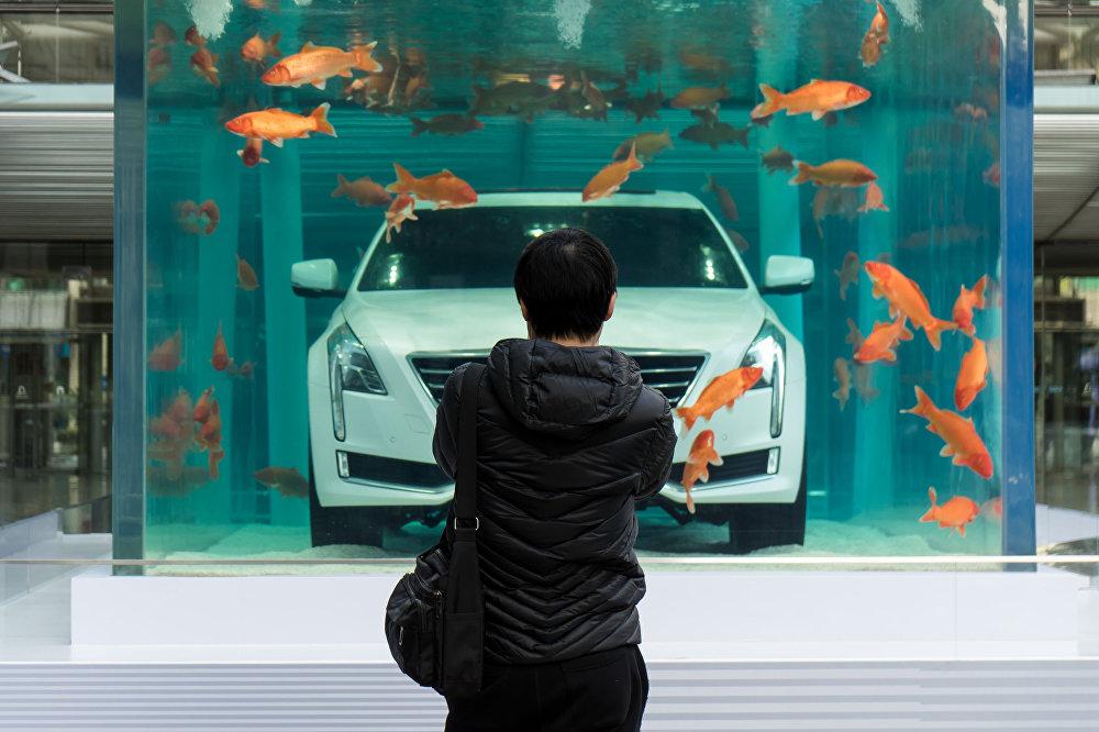 Рекламная кампания автоконцерна GM в Китае