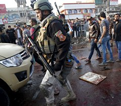 Багдаддын чыгыш тарабында жекшемби күнү болгон жардыруу жайында.