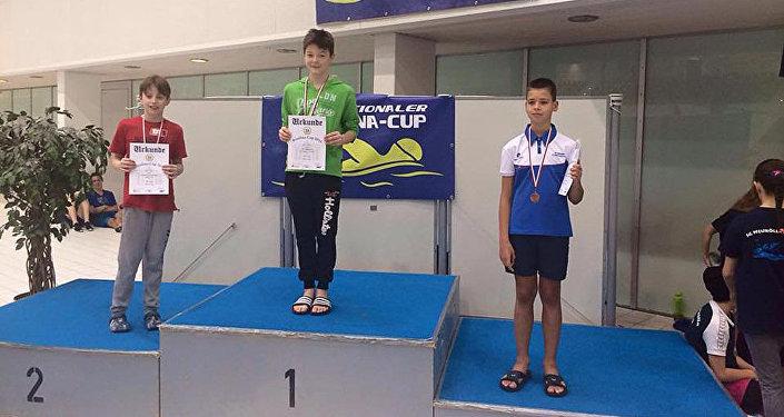 Пловцы из Кыргызстана завоевали четыре золотые медали в первый день международного турнира Berolina Cup — 2016 в Германии