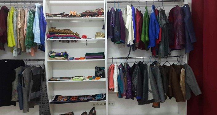 Магазин, продающий изделия, изготовленные только в Кыргызстане