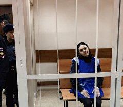 Няня Гюльчехра Бобокулова, обвиняемая в убийстве 4-летней девочки Насте Максимовой.