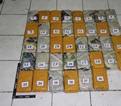 Задержание сотрудника МВД Таджикстана с 36 кг гашиша