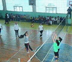 Турнир по волейболу к 8 Марта в Оше