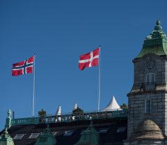 Здание в Осло. Архивное фото