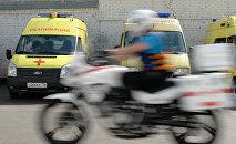 Машина скорой помощи. Архивное фото