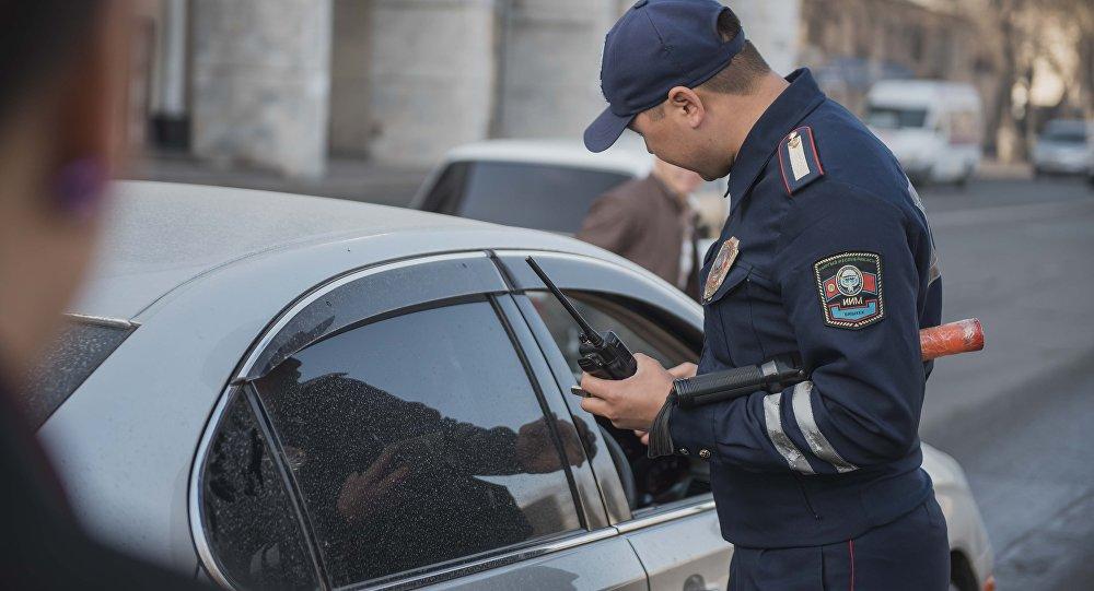 Инспектор ГУОБДД во время службы. Архивное фото