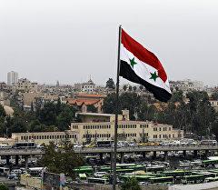 Сириянын мамлекеттик желеги. Архив