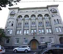 Здание посольства КР в Москве. Архивное фото