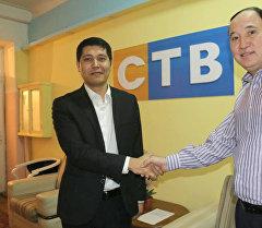СТВ телеканалына директор болуп дайындалган Алтынбек Деркембаев