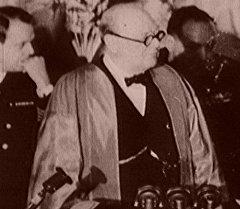 Зловещая тень коммунизма в речи Уинстона Черчилля в Фултоне. 1946 год