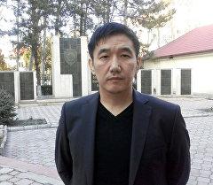 ИИМдин маалымат борборунун башчысы Алмазбек Бообеков. Архив