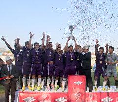 Кантский клуб Абдыш-Ата выиграл свой первый Суперкубок Кыргызстана по футболу