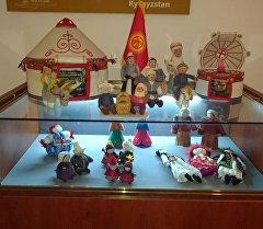 Иранда өткөн кол өнөрчүлүк боюнча эл аралык фестивалдагы экспонаттар