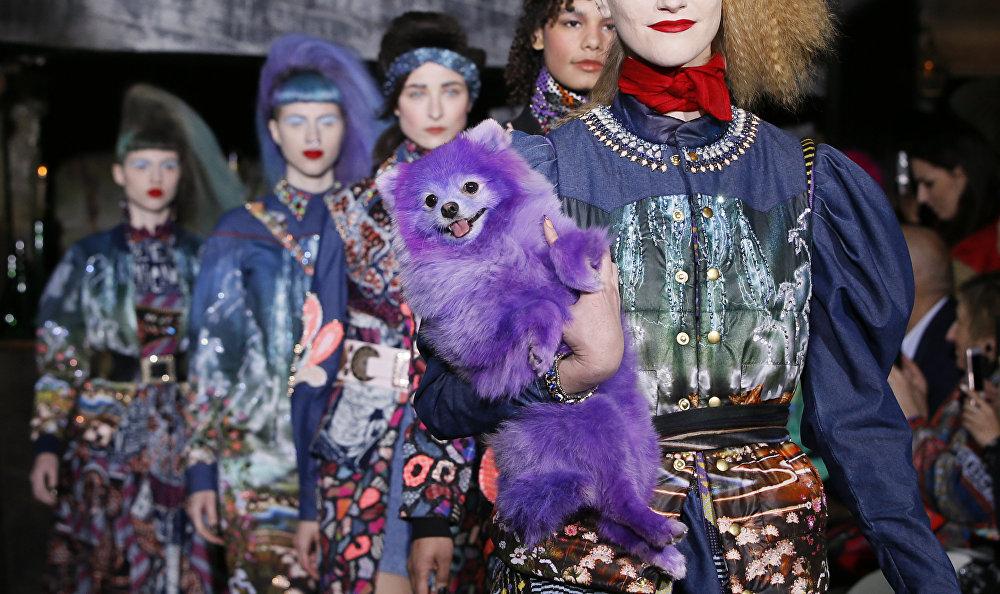 Показ мод ready-to-wear в Париже