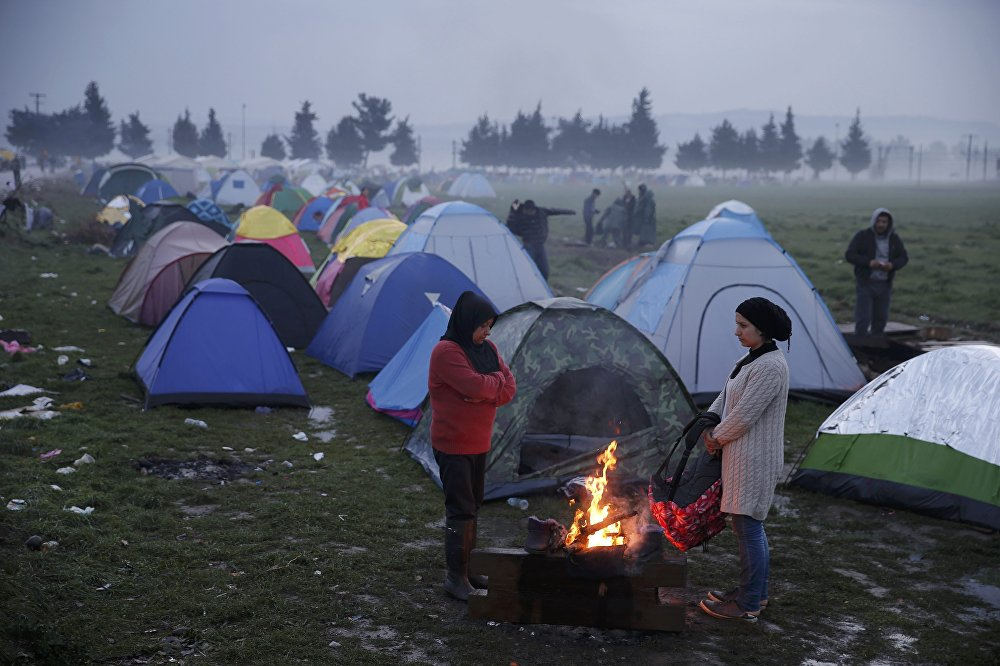Ситуация с беженцами в Европе