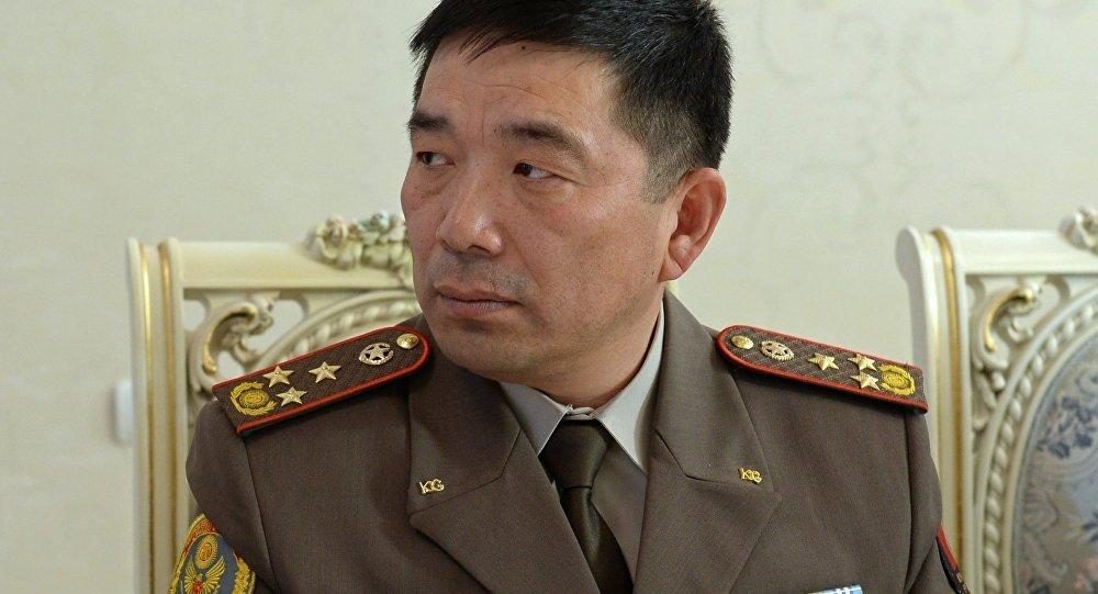 Куралдуу күчтөрдүн Генералдык штабынын начальнигинин биринчи орун басары Кубанычбек Орозматовдун архивдик сүрөтү