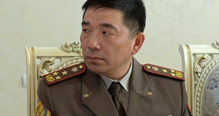 Первый заместитель начальника Генерального штаба Вооруженных Сил Кыргызской Республики Орозматов Кубанычбек Апазович