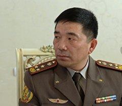 Первый заместитель начальника Генерального штаба Вооруженных Сил Кыргызской Республики Орозматов Кубанычбек. Архивное фото
