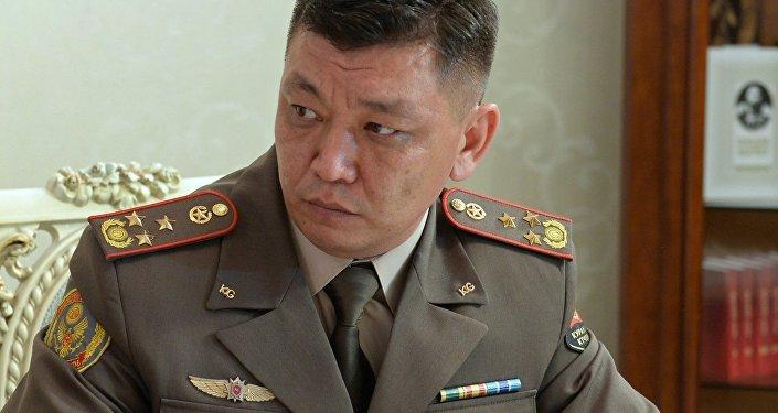 Заместитель начальника Генерального штаба Вооруженных Сил Кыргызской Республики Чомоев Нурлан Нуридинович.