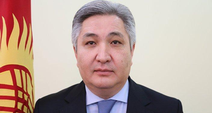 Архивное фото посла Кыргызстана в России Болота Отунбаева