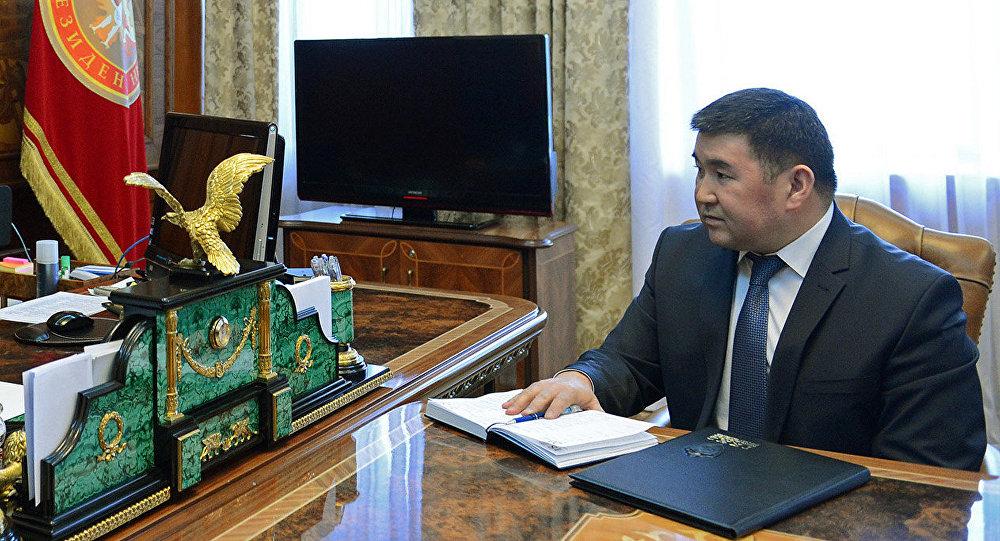 Архивное фото директора Антикоррупционной службы ГКНБ Боконбая Казакова