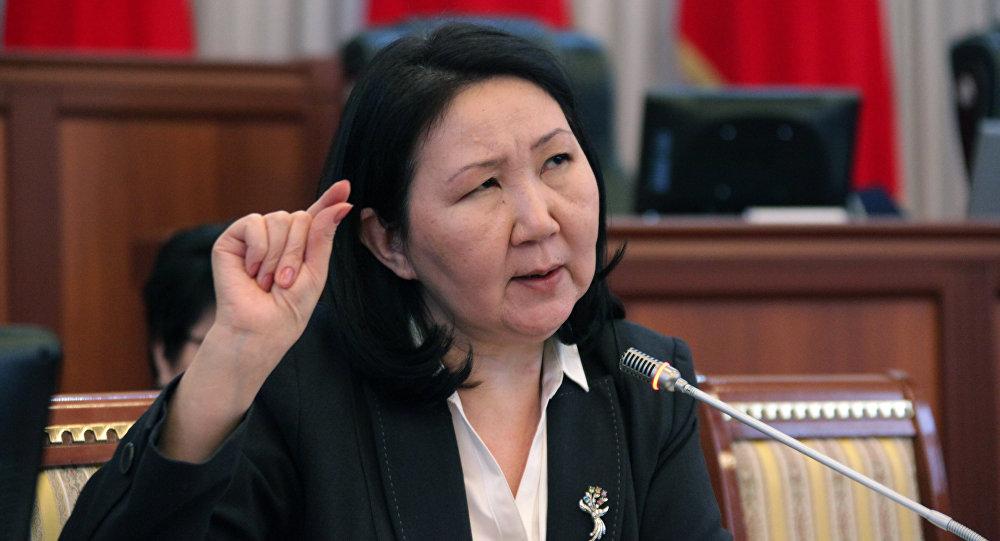 Видный общественный деятель и постоянный член аналитического клуба Sputnik Кыргызстан Эльмира Ибраимова. Архивное фото