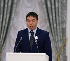 Кыргызстандык Марат Исаев. Архив