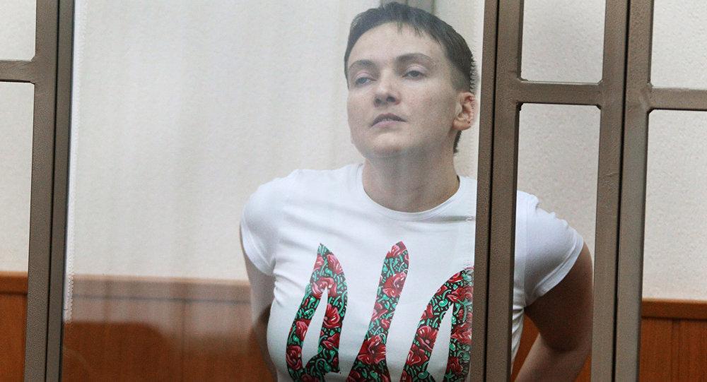Гражданка Украины Надежда Савченко, обвиняемая по делу о гибели российских журналистов в Донбассе. Архивное фото