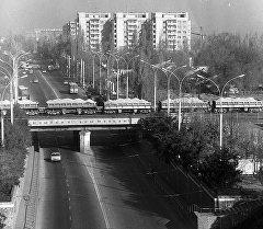 Жилых 9-этажные дома во Фрунзе, 1984 год