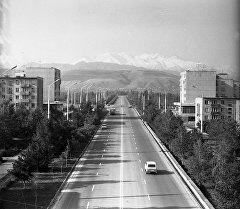 Весна во Фрунзе, или Ностальгия по зеленой столице. Архивные кадры