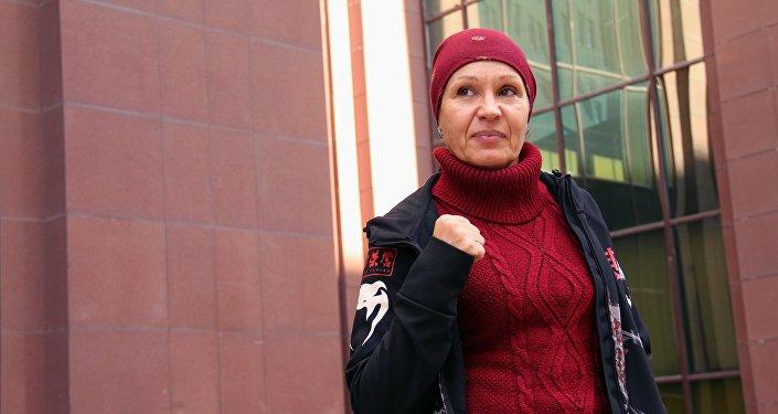 UFC мушкери Валентина Шевченконун архивдик сүрөтү