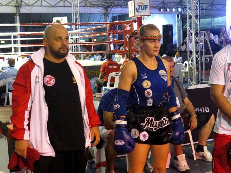 Валентина Шевченко готовится в бою