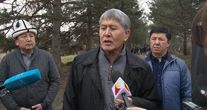 Алмазбек Атамбаев мураскору кантип тандаларын айтты