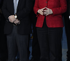 Германия канцлери Ангела Меркел. Архивдик сүрөт