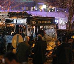 Түркиянын борбору Анкара шаарында болгон теракт