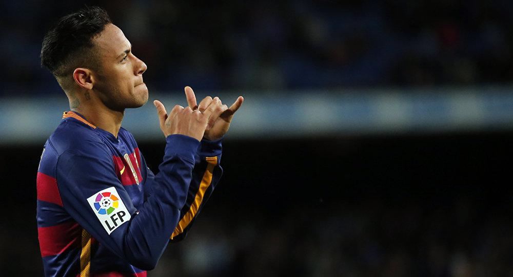 Игрок ФК Барселона Неймар. Архивное фото
