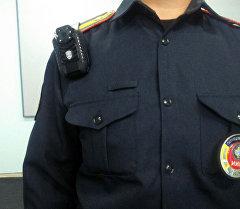 Сотрудник Главного управления патрульной милиции. Архивное фото
